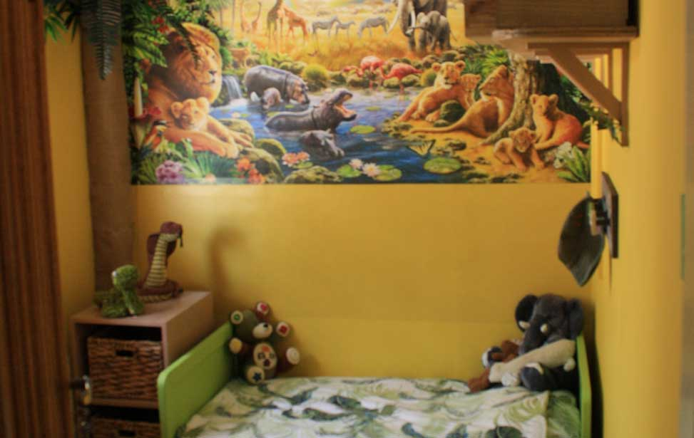 childrens bedroom jungle theme makeover interior design ideas rh girlaboutthehouse com